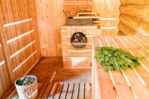 уборка бассейнов, сауны и бани